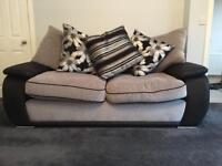 SCS 3 seater sofa, 1 year old