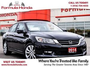 2014 Honda Accord Sedan TOURING | FULLY LOADED | ACCIDENT FREE