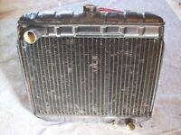 Ford Corsair radiator to fit 2000E in good condition with no leaks.