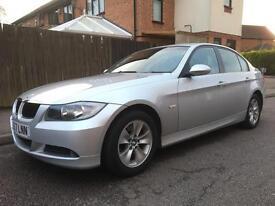 BMW 318i SE (2.0), 2007 57 Reg, Metallic Silver, 1 Former Keeper, Low Mileage 72,000 ONLY