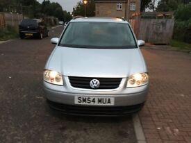2004 Volkswagen Touran 2.0 TDI SE MPV 5dr (7 Seats) Manual @07445775115