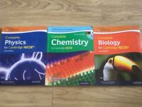 Complete GCSE Physics, Biology, Chemistry Revision Guides