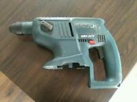 24 volt Bosch cordless SDS drill