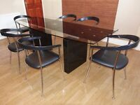 Actona Roma Dining Table & Six Chairs