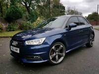 AUDI A1 S LINE TFSI 2016 BLACK EDITION FACELIFT 5DOOR MUST SEE *****