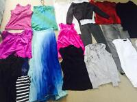 Bundle of women's clothes size 8-10