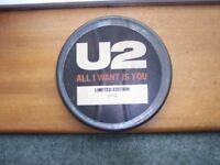 'U2' Limited Edition Vinyl record