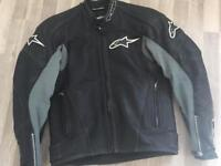 Alpine Stars leather jacket