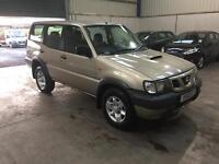 03 Reg Nissan terrano ll 2.7 tdi 4x4 full mot vary cheap jeep
