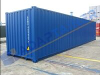 40ft new build shipping container in London (can be rented also)