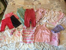 Baby girl clothes bundle 34 items 0-3 months