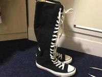 Knee High Converse