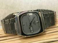 Vintage 1970s retro seiko gents Japan automatic watch