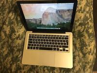 Macbook pro 13.3 2.5Ghz dual core