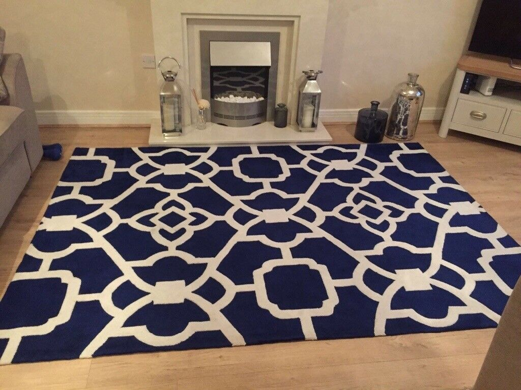 Marrakesh Blue Rug In Quorn Leicestershire Gumtree