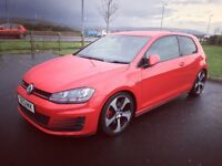 Volkswagen Golf GTI MK7 Red Low Mileage 2013