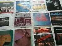 Vinyl Singles 50s-80s..pop,rock,soul.excellent condition. 80p each. All 40 for £25.