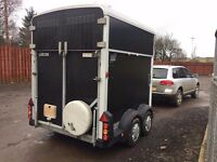 Ifor William 511 double horse trailer