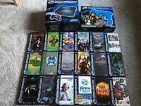 Sega Saturn Boxed Console & Games