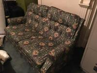 SOFA BED GOOD CONDITION FABRIC FREE