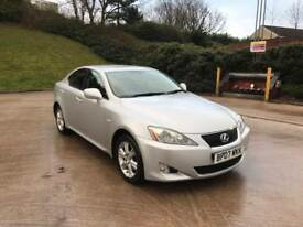 **1 OWNER+FULL SERVICE HISTORY+LEXUS IS220D 2.2 DIESEL 4 DOOR SALOON (2007 YEAR)**
