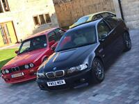 BMW E46 M3 MANUAL COUPE LIE MILEAGE