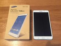 "Samsung Galaxy Tab 4 7.0"" White Perfect condition"