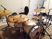 SJC custom drum kit!