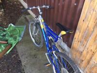 Unisex mountain bike 26 inch wheel