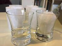 6 MOYA LSA glassware tumblers