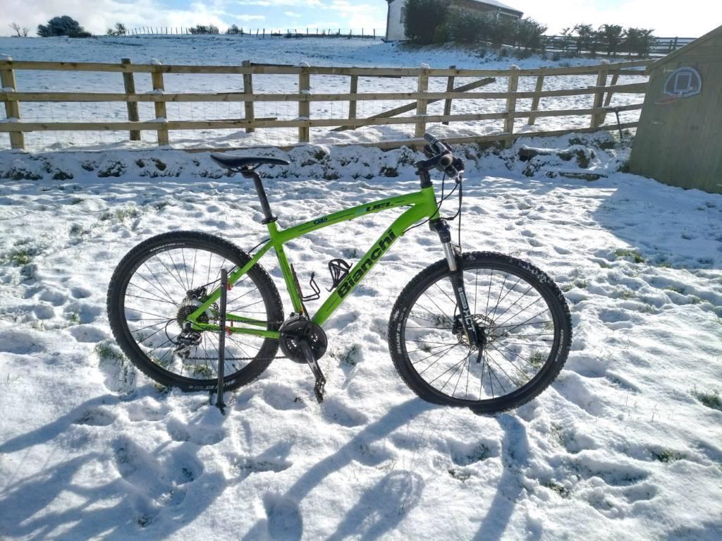 2017 Bianchi DUEL 27.5 Mountain Bike rrp £530 Large 19\