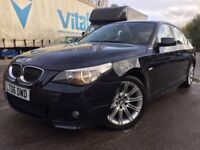 bmw -530D- M Sport -Automatic - Sat Nav - cream Leather heated seats - full loaded