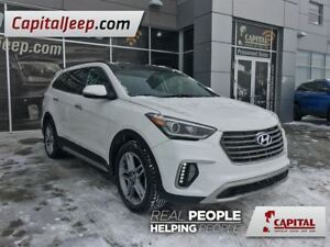 2017 Hyundai Santa Fe XL Limited| XL| AWD| Leather| LOW KM| Sunr