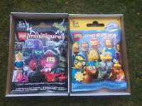 2 gigantic Lego Minfigures shop display packets for sale
