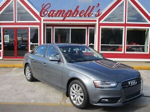2013 Audi A4 2.0T AWD SUNROOF HTD LEATHER ALLOYS