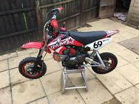 Pit bike thumpstar 120 pro MINT FOR AGE
