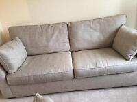 John Lewis pair of sofas