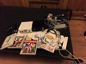 Ninetendo wii and wii fit board bundle