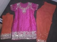 ladies shalwar Kameez size 14/16
