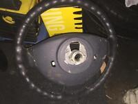 Renault Clio MK2 steering wheel