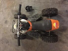 50cc quad spares repairs needs pullstart