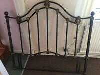 Cast iron headboard for double bed £25