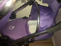 Icandy peach lower carrycot and liner