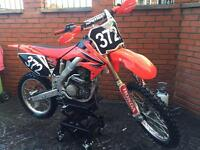 Honda Crf 250 r twin pipe 2008 not sxf kxf yzf Rmz