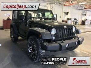 2016 Jeep Wrangler Sport  Cloth  6 Speed Manual  CD player  Low