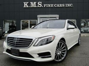 2014 Mercedes-Benz S-Class S550| LWB| LUXURY REAR SEATS| BURMEST