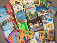 Box of various children's books