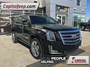 2016 Cadillac Escalade Platinum| Leather| LOW KM| AWD| Sunroof