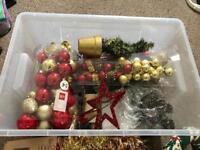 Christmas Box full of stuff
