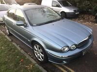 2004. JAGUAR X TYPE. MOT. TAX. LEATHER